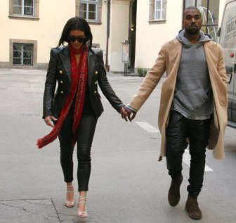 The ever stylish couple on their honeymoon in Ireland.
