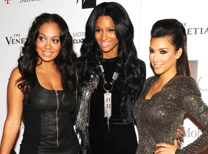 What is a celeb without famous friends? Lala has been friends with Ciara and Kim Kardashian for some time.