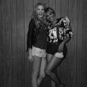Beyonce and Blake.