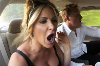 "Kim and her hubby Kroy in a still from ""Don't Be Tardy""."