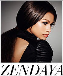 Zandaya is a Disney star who was selected to portray Aaliyah.