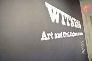 """Witness: Arts and Civil Rights in the 60s"". #Activism"