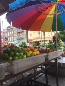 Fruits on display at Findlay Market.