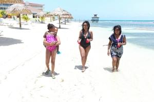 Amazing stretch of beach. We enjoyed iced slushies to cool off beachside.