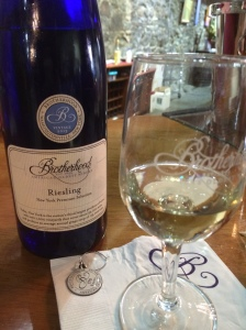 This Brotherhood Riesling is a favorite on the White House Menu.  Former President, Bill Clinton insisted that American wines should be served in the White House. Before this there were no American wines on our White House menu.