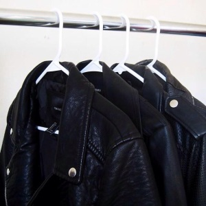 Faux leather biker jackets adds that edge that every City Girl desires.