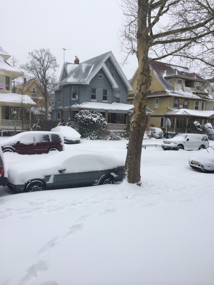 The digging out of the cars as yet to begin.