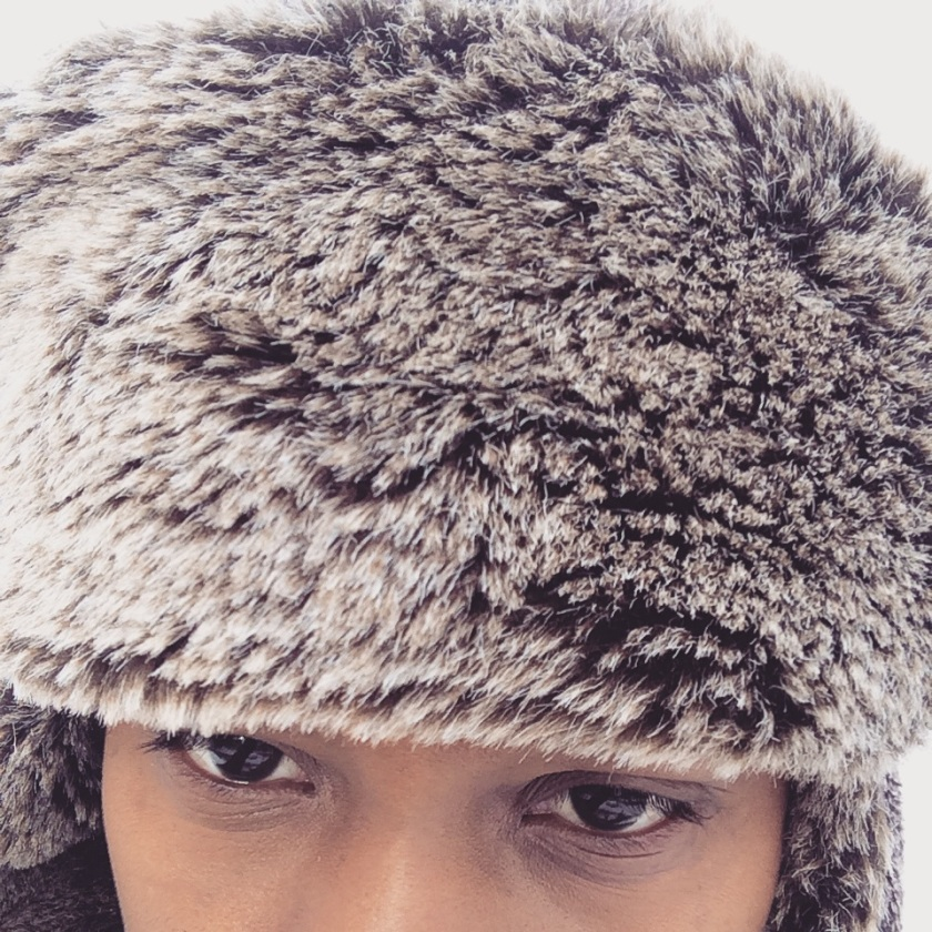 The warmest trapper hat .