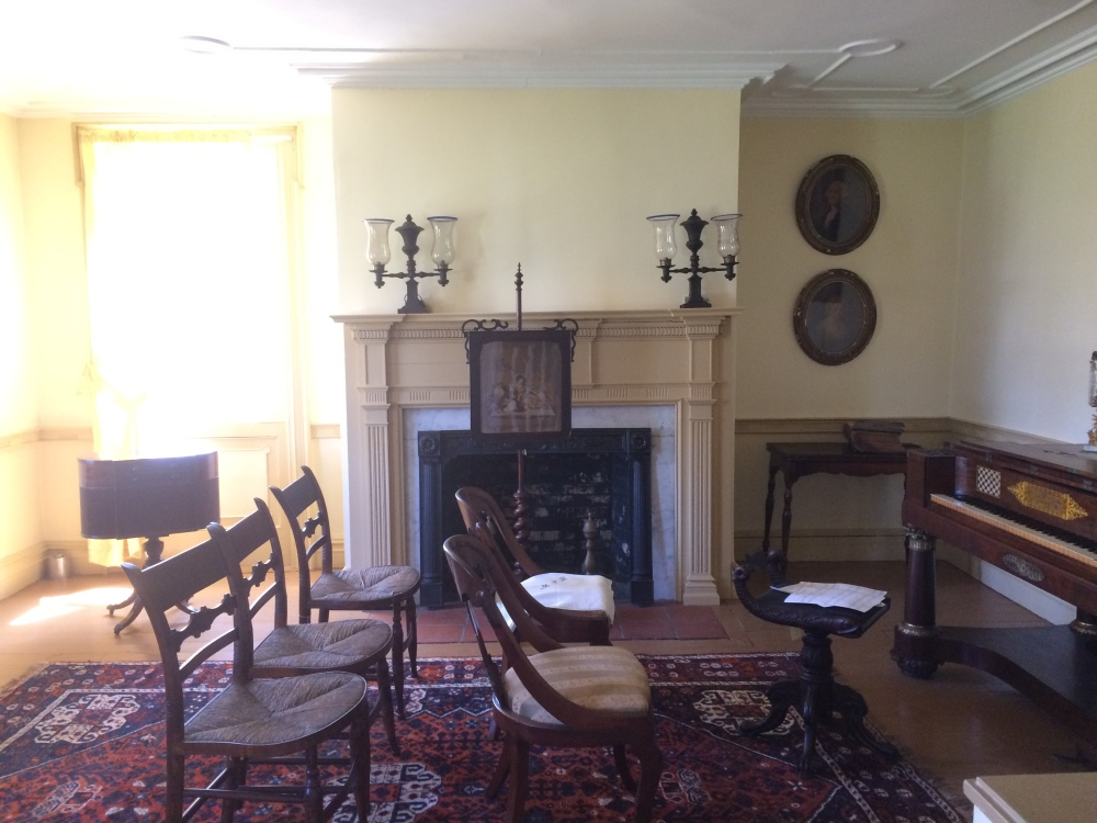 There are beautifully restored rooms that brings you back to what life was like in the 17 and 1800s in Brooklyn.