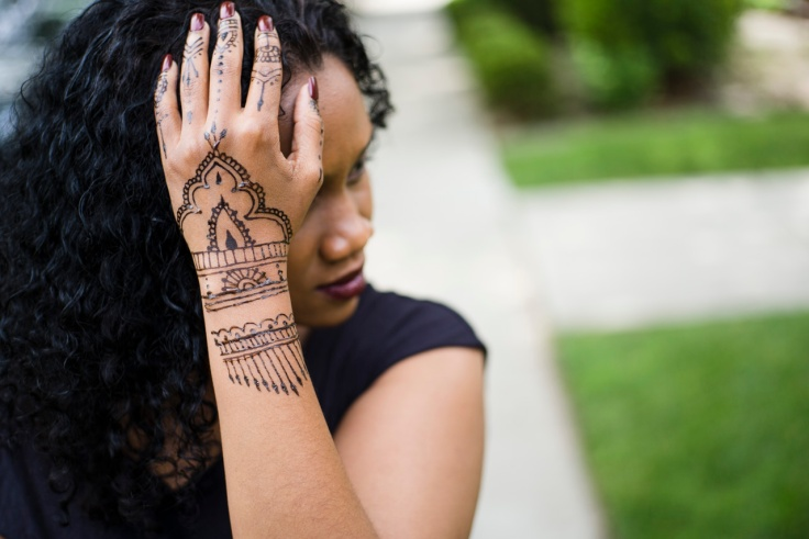 No real meaning or occasion for the henna. Just an outlet for some creativity that I was feeling.
