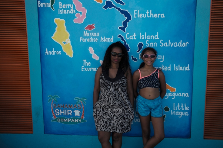 Our first stop was Nassau, Bahamas. We soaked up some sun on the beach and visited a local African museum. I like finding out about the history of the people of the places that I visit. You find that we are more similar than we are different.